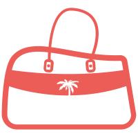 sac de voyage rose