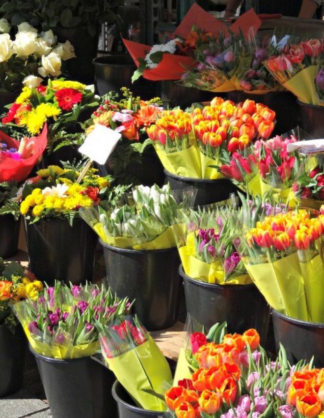 Un dimanche matin au marché Saint-Marc à Rouen